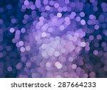 bokeh light  shimmering blur... | Shutterstock . vector #287664233