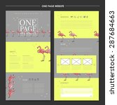creative one page website...
