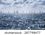 beautiful landscape of the sea... | Shutterstock . vector #287798477