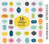 paper vintage texture... | Shutterstock .eps vector #287810123