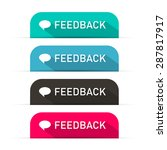 vector feedback icons set | Shutterstock .eps vector #287817917