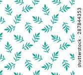 seamless floral pattern.... | Shutterstock .eps vector #287844353