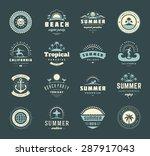 summer holidays labels design...