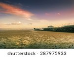 seaside during sunset in...