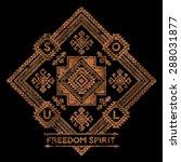 freedom spirit  vector artwork...   Shutterstock .eps vector #288031877
