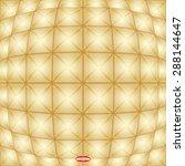 abstract angular golden pattern ... | Shutterstock .eps vector #288144647