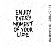 conceptual handwritten phrase... | Shutterstock .eps vector #288147443