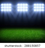 the soccer stadium with the... | Shutterstock . vector #288150857