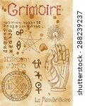 Page From Magic Book Grimoire...