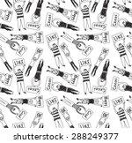 seamless pattern big group... | Shutterstock .eps vector #288249377