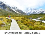 aoraki mount cook national park | Shutterstock . vector #288251813