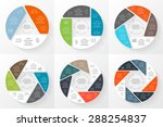 vector circle infographic.... | Shutterstock .eps vector #288254837