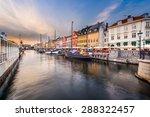 Copenhagen  Denmark Cityscape...