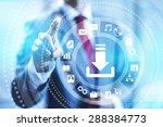internet download connection...   Shutterstock . vector #288384773