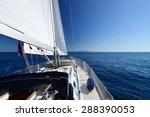 yacht  sailing regatta.  | Shutterstock . vector #288390053