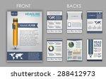 design of flyers  brochures and ... | Shutterstock .eps vector #288412973