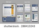 design of flyers  brochures and ...   Shutterstock .eps vector #288413243