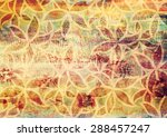 beautiful hand drawn background ... | Shutterstock . vector #288457247