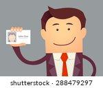 illustration of businessman... | Shutterstock .eps vector #288479297