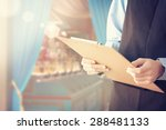 candy store owner | Shutterstock . vector #288481133