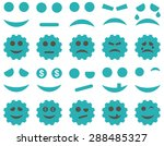 tools  gears  smiles  emoticons ... | Shutterstock .eps vector #288485327