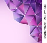 abstract purple background with ... | Shutterstock .eps vector #288494633