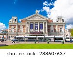 amsterdam april 30  the royal... | Shutterstock . vector #288607637