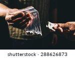 drug addict buying narcotics... | Shutterstock . vector #288626873
