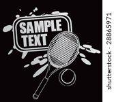 splat banner | Shutterstock .eps vector #28865971