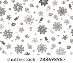flower collage   Shutterstock . vector #288698987