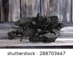 Small photo of Charcoal, carbonize, carbon.