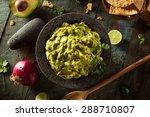 Homemade Fresh Guacamole And...