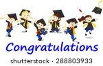 happy graduates   Shutterstock . vector #288803933