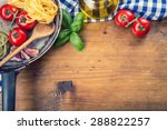 italian and mediterranean food... | Shutterstock . vector #288822257