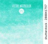 mint green watercolor vector...   Shutterstock .eps vector #288841757