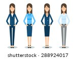 vector illustration of young... | Shutterstock .eps vector #288924017