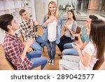 happy patient has a...   Shutterstock . vector #289042577