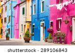 Colorful Houses In Burano...