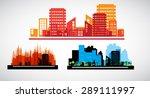 urban landscape | Shutterstock . vector #289111997