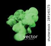 Vector Illustration Of Green...