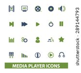 media player  music isolated...