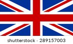 flag of united kingdom with... | Shutterstock .eps vector #289157003