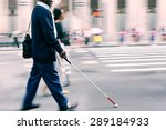 blurred movement disabled on a... | Shutterstock . vector #289184933