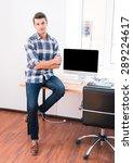full length portrait of a... | Shutterstock . vector #289224617