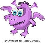 cartoon monster   Shutterstock .eps vector #289239083