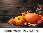 thanksgiving   different...   Shutterstock . vector #289266773
