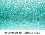 abstract teal or turquoise... | Shutterstock . vector #289267187