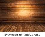 Wooden Wall And Floor...