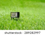 retro vintage tv | Shutterstock . vector #289282997