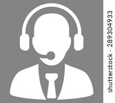 call center icon from business...   Shutterstock .eps vector #289304933